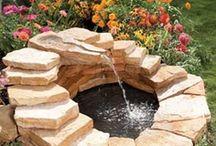 Фонтаны- водоемы в саду