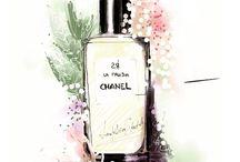 Perfume Illustrations
