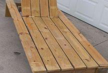 ξαπλώστρα ξυλινη