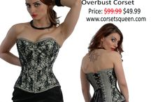 Fashion Corset / Fashion Corsets collection, Fancy cloth, Women corset by corsetsqueen.com