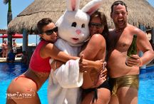 Temptation Easter Egg Hunt / Definitely, if you like Easter, you are going to love it here, and if it's not your favorite party, you will change your mind. Only here, at Temptation Resort Spa Cancun, where the party turns on like anywhere else. #TemptationResort #Easter