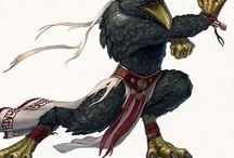 RPG Inspiration Raven Folk