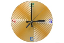 Interesting Clocks / A contempory collection of designer clocks.Enjoy talking about them when your friends visit!!  They lift your spirit as well!!