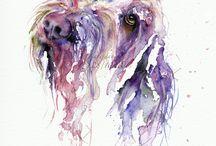 Art animals ideas