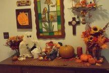 Fall Decorations / Centerpieces, floral arrangements, etc.