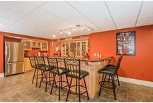 Ideas for Finished Basements / Looking for a Man Cave or a Lady's Lair? When you know you want a Finished Basement, but need a little inspiration...