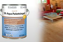 Holzlacke / Siegel / Farblose Holzlacke für viele Holzarten   Parkettlack   Parkettsiegel
