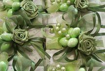 Bonboniere nozze smeraldo
