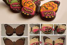 biscoitos borboleta