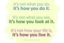 Positive thinking! / by Lana Johnson