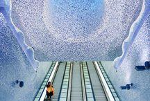 Statii de metrou - Metro stations
