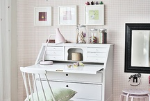 Office/Craft Space / by Bethany Burrus