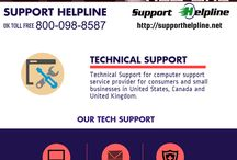 Technical Support in UK / We provide faster and more reliable service at lower cost. You only pay the time you use. If you run a business or even need help with your system at home, lets support Helpline tailor a best resolution to your exact needs.