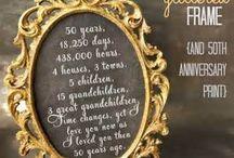 Grandparents 50th / by Dinah Castillo