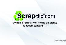 """Scrapclix / """"Ayuda a reciclar y el medio ambiente.  te recompensara …"""""""