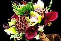 Mixed  Flower Bouquets  / Beautiful bouquets of mixed flowers, colors and textures. / by Fly Me To The Moon Florists