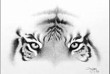 idea tatoo tigre / by Candy♡ Fashionista