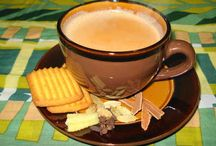 Coffee,  Tea, and Me / Nothing nicer than a hot cuppa on a cool morning / by Katharine H