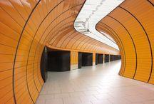 Münchener U-Bahn-Stationen / Inspirationen für eine Fototour