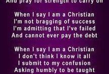 When I say I'm a Christian