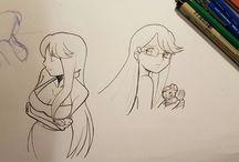 ROSA  NERA / manga