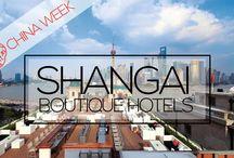 CHINA WEEK : Best Design Hotels in Shangaï / http://www.myboutiquehotel.com/mag/best-hotels-in-shanghai/