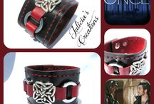 Gifted for consideration for use to OUAT / My cuff I designed then gifted to the stylist of the ABC's hit show Once Upon A time to be considered for use thanks to  The Artisan Group