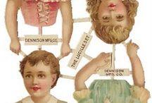 Paper / Paper dolls, scraps, labels, books, ex libris, etc. / by Jeannette Huij