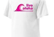 Live Aloha / Products from the Live Aloha project that helps to support breast cancer and promote living aloha all at the same time!