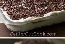 Lasaña de chocolate