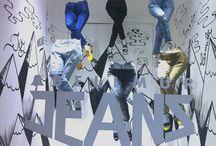 """Escaparates """"MIL PALABRAS"""" Jeans Verano 2014 / by Bellmur"""