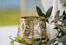 Elegant Gold Beach Wedding Inspiration