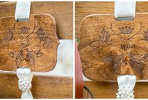 Wedding | Chair Artistry / Chair candy for your wedding chairs! Whether for the bride or groom, or for your wedding guest chairs, the smallest of touches can make for the prettiest of details.