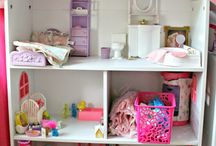 Ahşap Oyun Evi & Playhouse & Furnitures