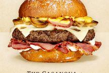 Receitas de hambúrgueres