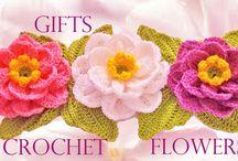 λουλουδια πλεκτα