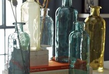 GLASS bottles and jars, COLOR my world
