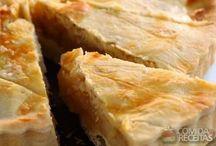 Torta de frango / Receitas