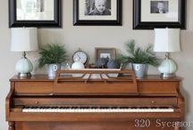 Decorating-piano