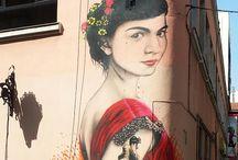 desenho e grafites