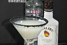 Коктейли алкоголь меню