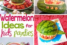 Watermelon fun!