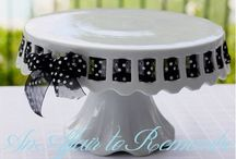 Pottery Cake Stands