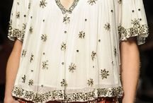 Research / Embellished blouses
