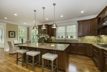 Kitchen ideas / Different styles and colors of kitchens
