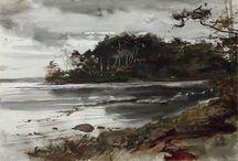 wyeth along the coast