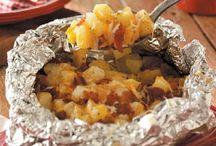 cheesey potatoes / by Barbara Schiavone