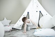 TEEPEES / Every child will find his own world inside our teepees.
