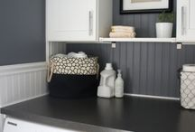 Laundry Rooms / If you've gotta do it, shouldn't it be pretty?