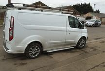 Transit Custom / Customers own Pimped up Ford Transit Customs.